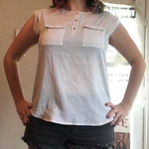 New York & Company white blouse